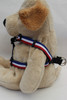 Patriotic Pooch Step-in Harness - by Diva-Dog.com  - side View