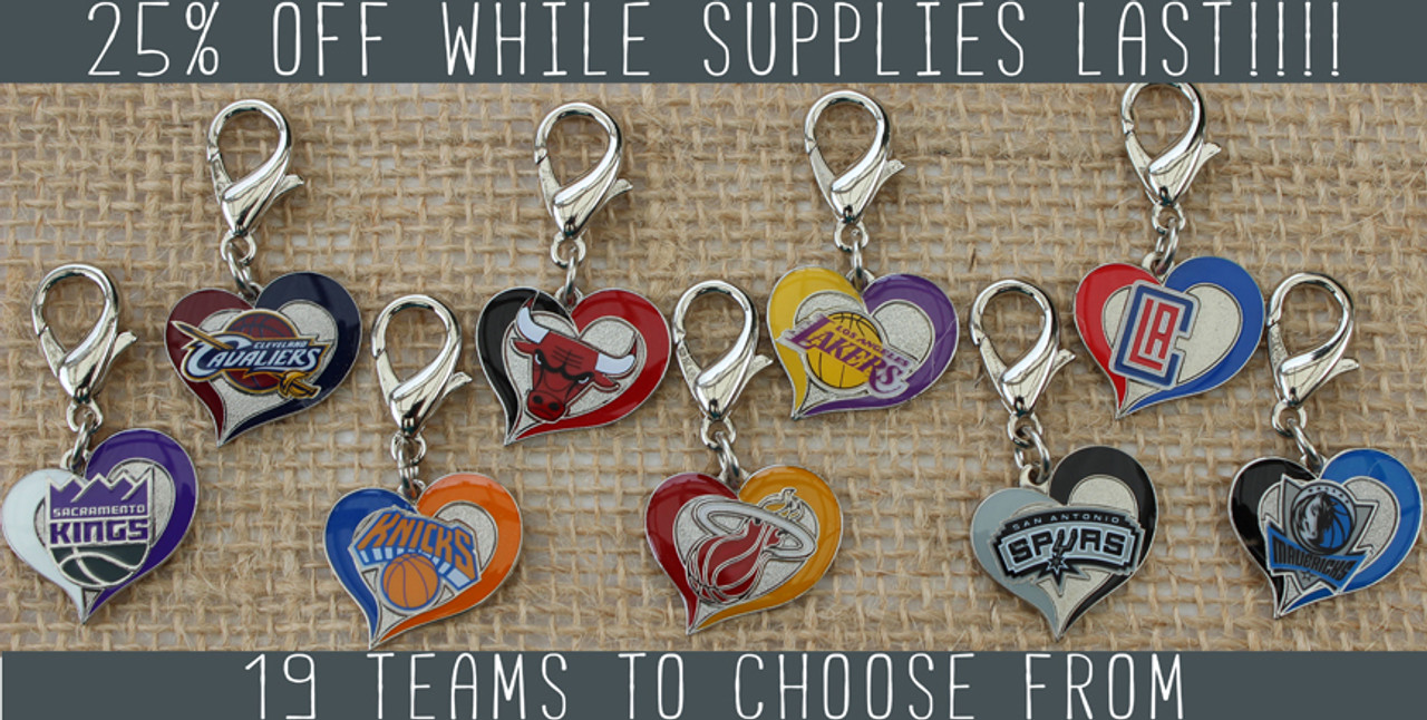 NBA Team Charms