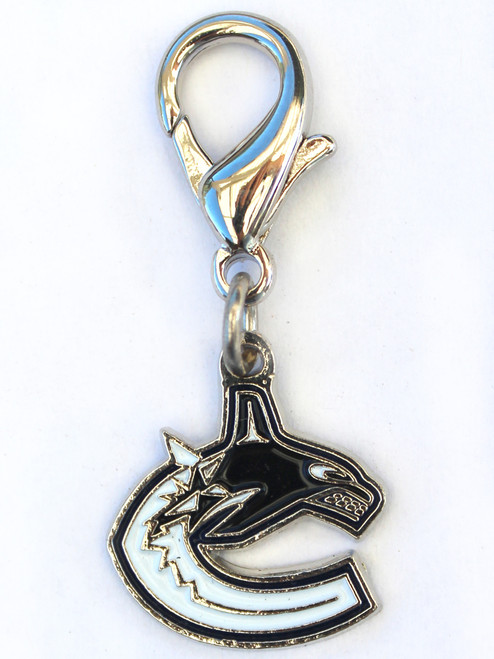 Vancouver Canucks collar Charm - by Diva-Dog.com