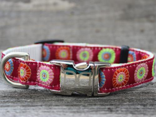 Sahara Rose dog Collar - by Diva-Dog.com