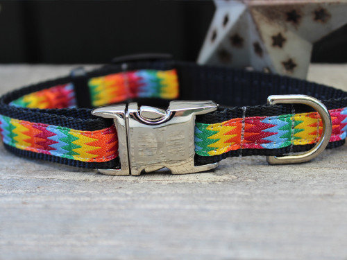Good Vibrations dog collar - by Diva-Dog.com