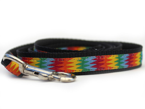 Good Vibrations dog leash - by Diva-Dog.com