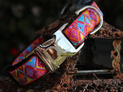 Bali Breeze dog collar - by Diva-Dog.com