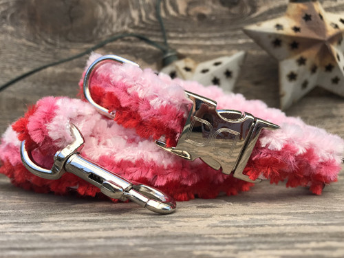 Cabo Cotton Candy pink dog collar - by www.diva-dog.com