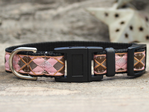 Argyle cat collar by www.diva-dog.com