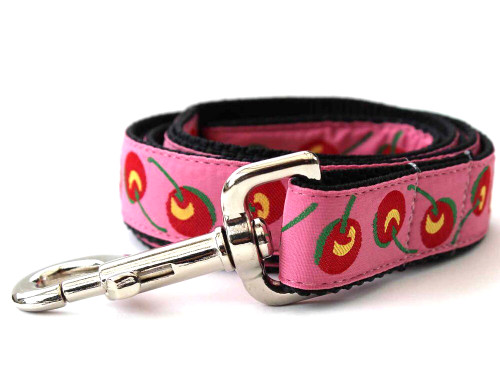 Cherries dog leash - by Diva-Dog.com