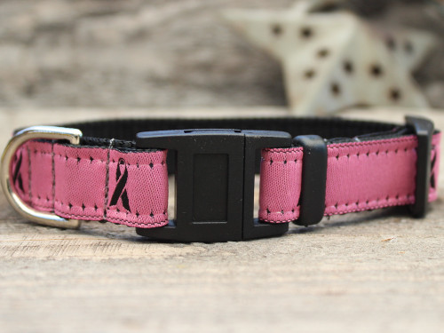 Breast Cancer Awareness cat collar by Diva-Dog.com