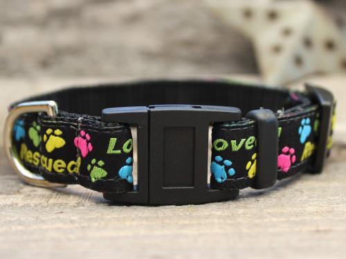 Rescue Me cat collar by Diva-Dog.com