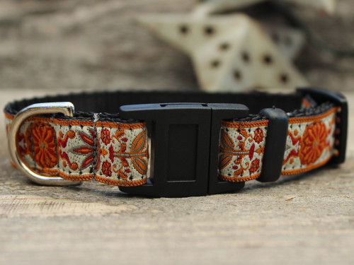 Venice Ivory cat collar by Diva-Dog.com