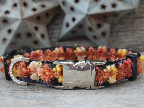 Coco Dog Collar in Copper - by Diva-Dog.com