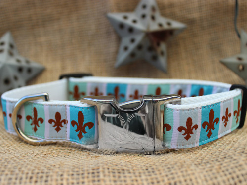 French Quarter Dog Collar - by Diva-Dog.com