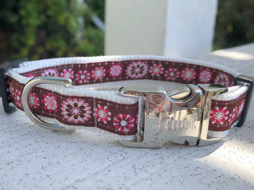 Garden Party Dog Collar - by Diva-Dog.com