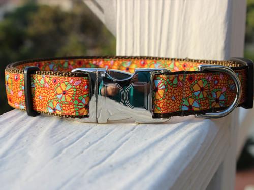 Woodstock dog collar by diva-dog.com