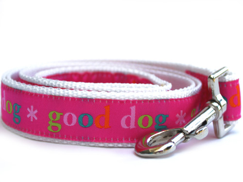 Good Dog! Pink Dog Leash - by Diva-Dog.com