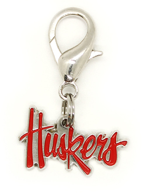 University of Nebraska Cornhuskers Collar Charm - by Diva-Dog.com