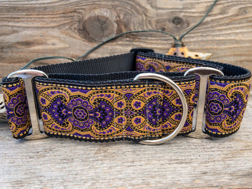 Kashmir Sultan Purple martingale by www.diva-dog.com