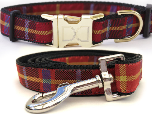 Vixen dog collar and leash by www.diva-dog.com