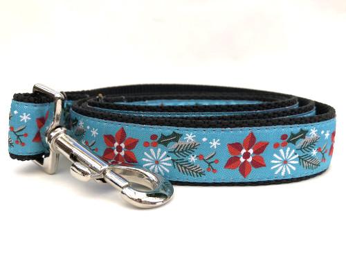 Winterberry dog leash by www.diva-dog.com