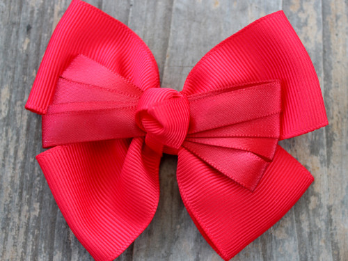 Tuxedo red bow for dog collars by www.diva-dog.com