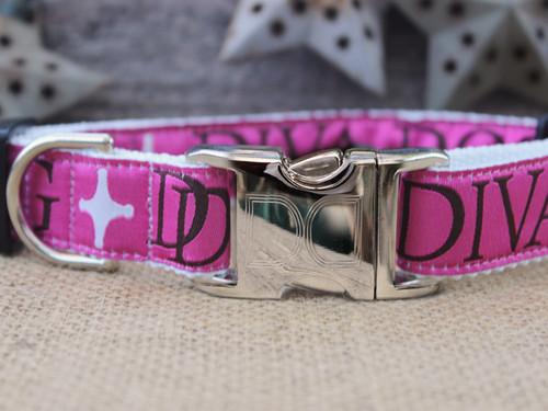 Monogram Dog Collar - by Diva-Dog.com