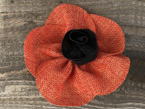 Poppy removable collar flower by www.diva-dog.com