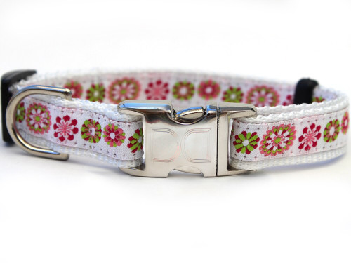 Winter Garden Dog Collar - by Diva-Dog.com