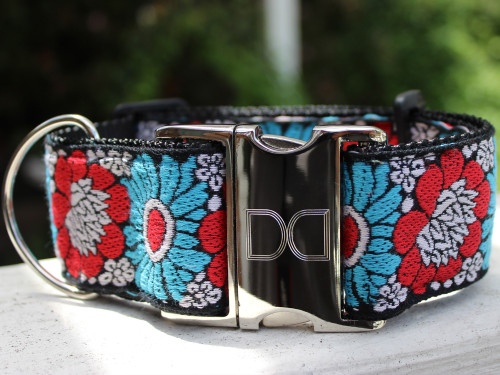 Hendrix extra wide dog collar by www.diva-dog.com