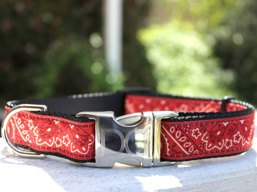Bandana-rama dog collar by www.diva-dog.com