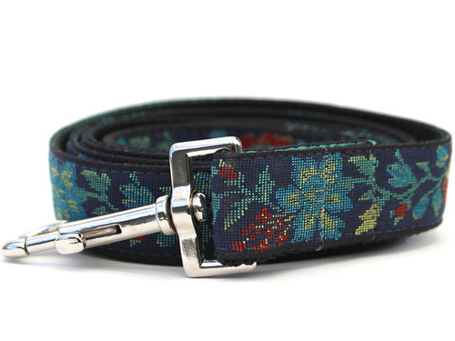 Nashville Rose dog leash - by www.diva-dog.com