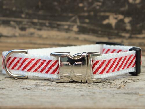 Cinnamon Stick Christmas dog collar by www.diva-dog.com