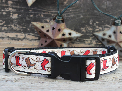 Boots sport buckle dog collar by www.diva-dog.com