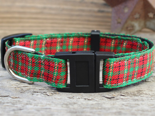 Alpine Plaid cat collar by www.diva-dog.com