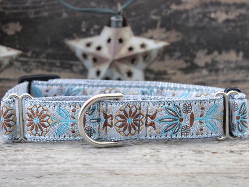 Boho Morocco medium martingale dog collar by www.diva-dog.com