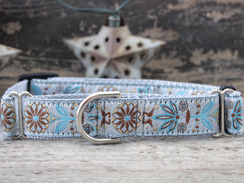 Boho Morocco medium martingale dog collar by www.diva-dog.com