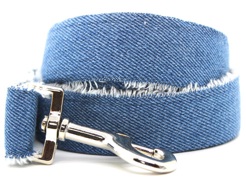Blue Jean Baby dog leash by www.diva-dog.com