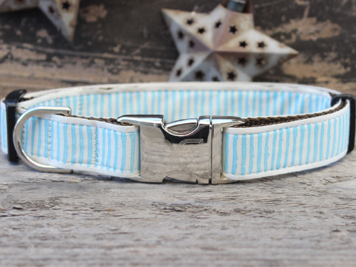 Beach Dunes dog collar by www.diva-dog.com