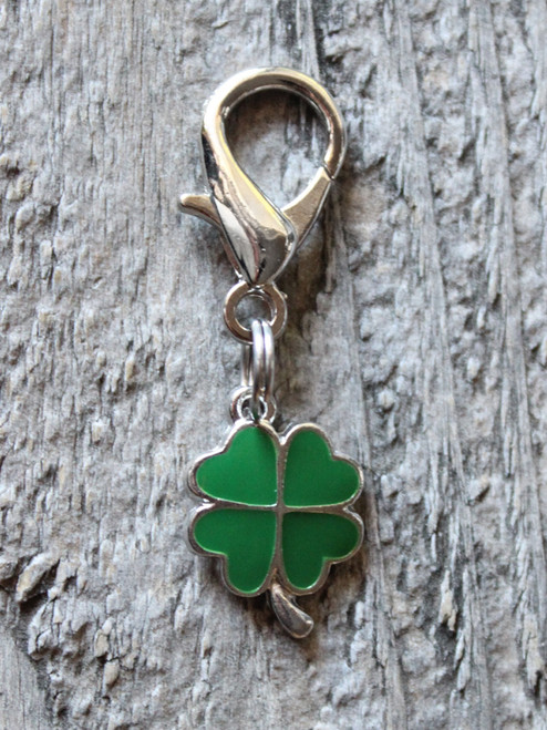 Lucky Charm dog charm by www.diva-dog.com