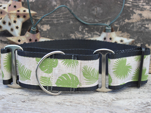 Rain Forest wide martingale by www.diva-dog.com