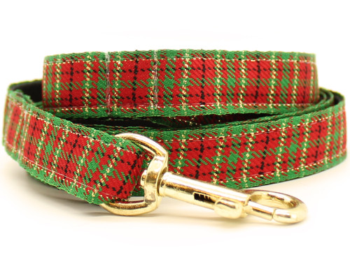 Alpine Plaid dog leash by www.diva-dog.com