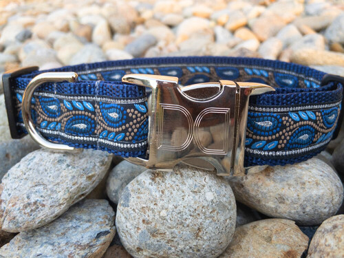 Morning Glory dog collar by www.diva-dog.com