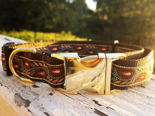 Mandevilla dog collar by www.diva-dog.com