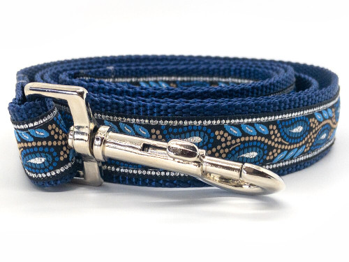 Morning Glory dog leash by www.diva-dog.com
