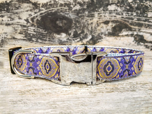 Borgia dog collar by www.diva-dog.com