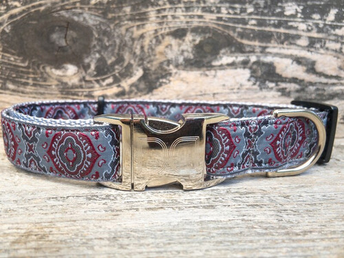 De Medici dog collar by www.diva-dog.com