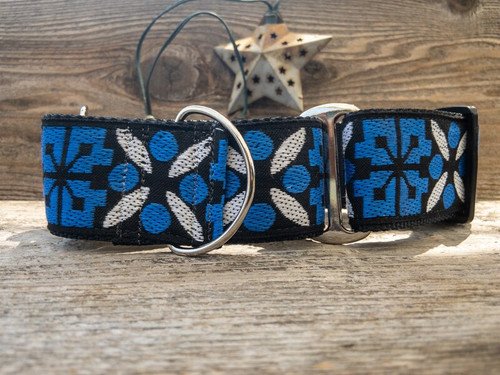 Moorea extra wide martingale dog collar by www.diva-dog.com