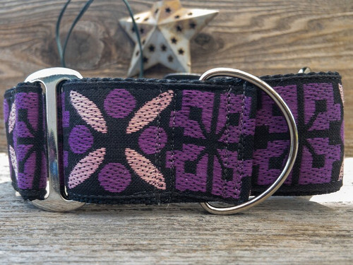 Monterey extra wide martingale dog collar by www.diva-dog.com