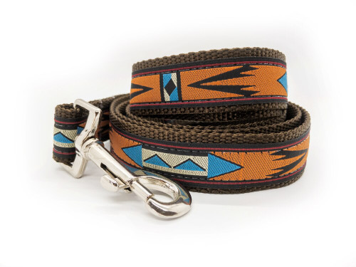 Navajo dog leash by www.diva-dog.com