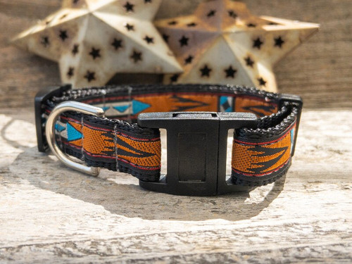 Navajo cat collar by www.diva-dog.com