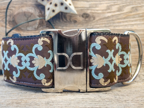 Dutchess wide dog collar by www.diva-dog.com