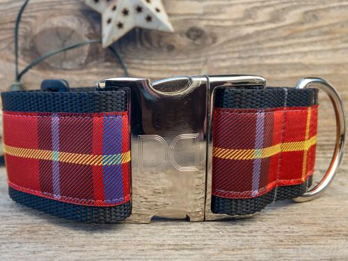 Vixen extra wide dog collar by www.diva-dog.com